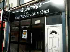 The friendliest fish and chip shop in Cardiff