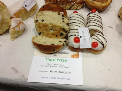 Welsh baker wins third place in UK's largest bakery competition