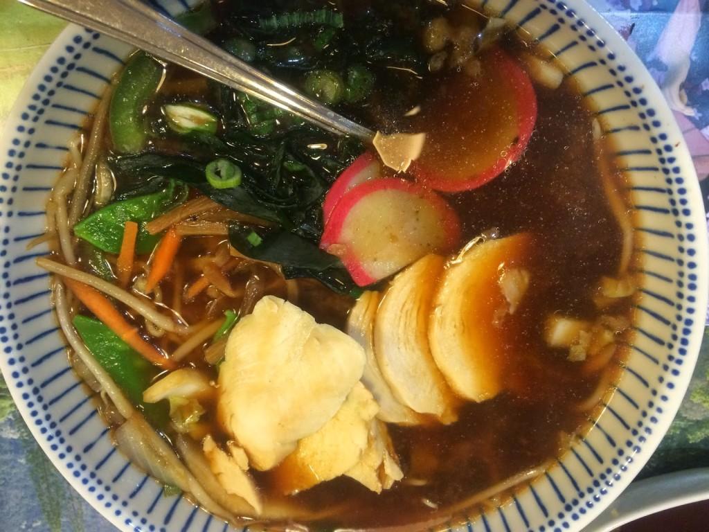 Tenkaichi's spicy chicken ramen