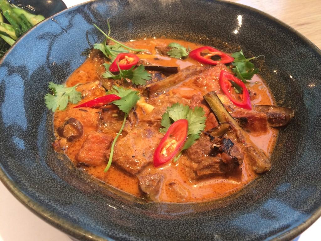 Beef massaman curry
