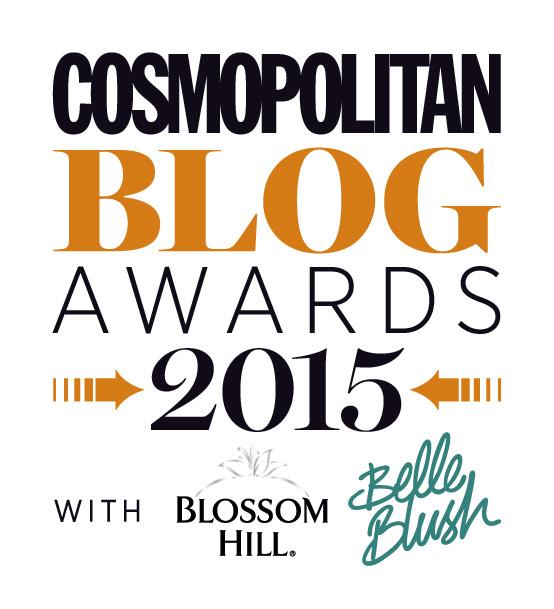 Cosmo Blog Awards 2015 logo/banner