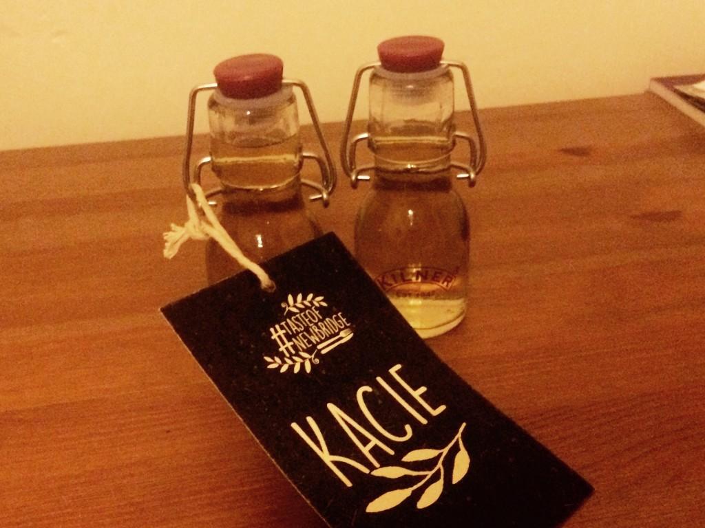Personalised Newbridge Spiced Rum and Wild Fennel and Tarragon Brecon Gin