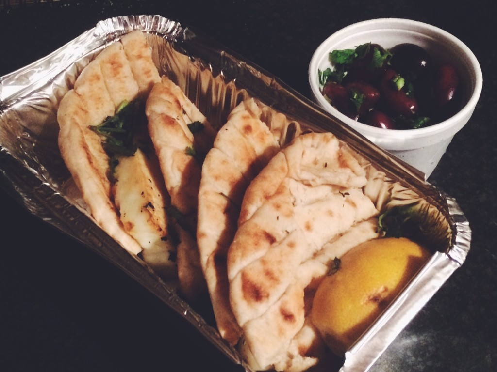 Deliveroo takeaway review – Pt. 1 – The Hellenic Eatery, Cardiff