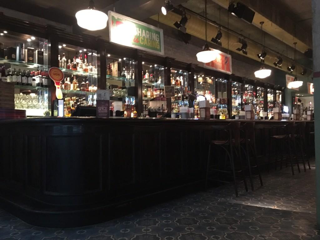 The bar in Revolucion De Cuba