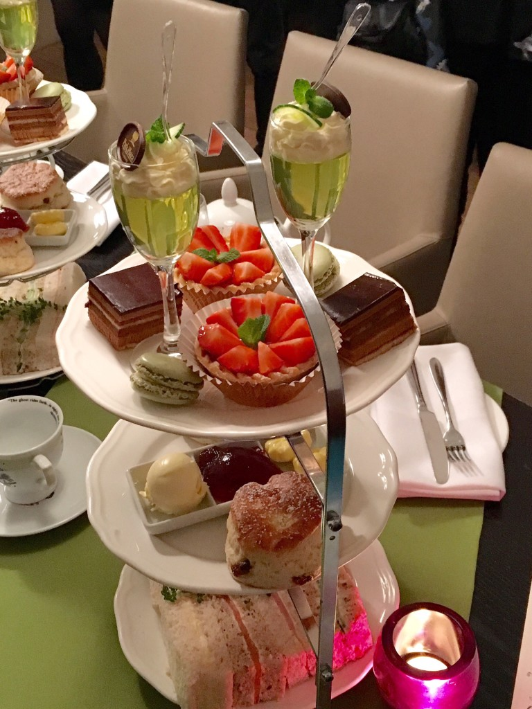 Cakes, pastries & sandwiches from Hendrick's Gin Afternoon Tea
