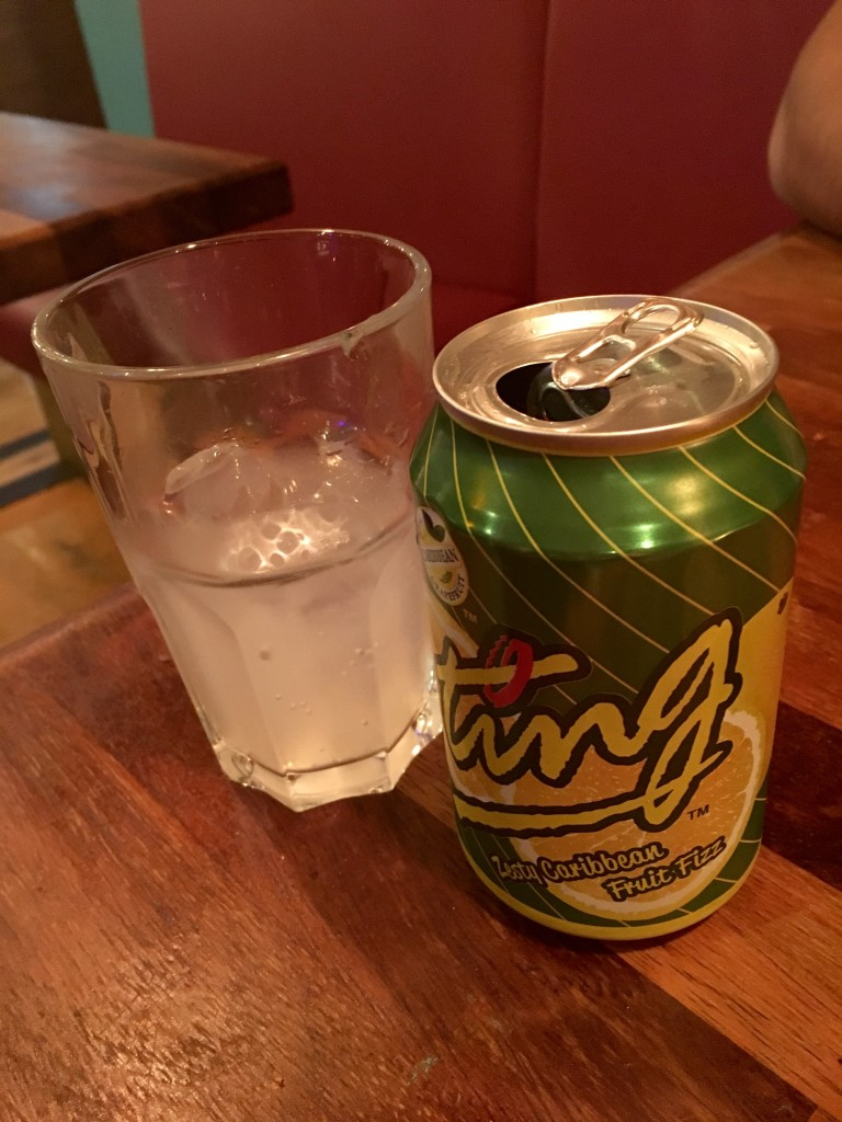 Ting Jamaican grapefruit soda