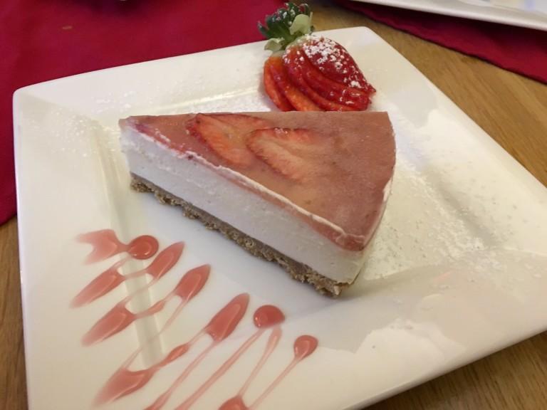 Cheesecake, panna cotta and tiramisu