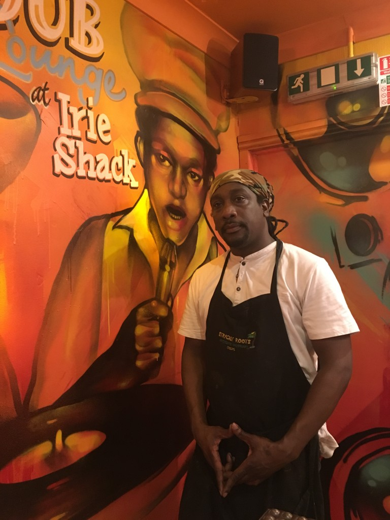 Peter Smith, Chef at Irie Shack