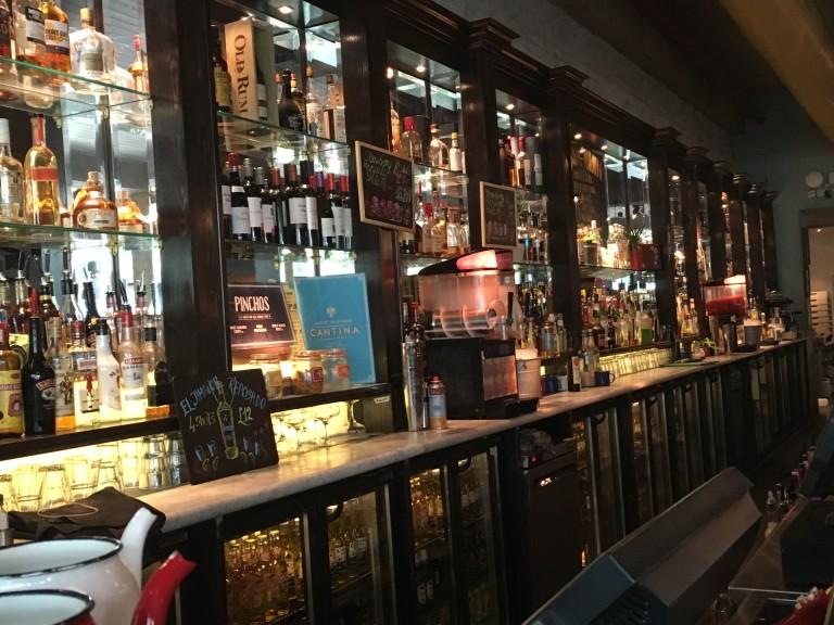 Main bar at Revolucion de Cuba