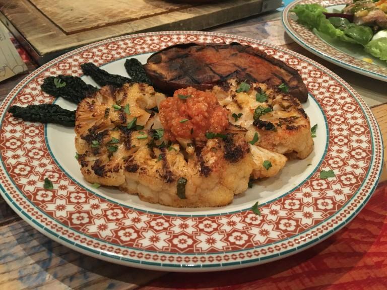Cauliflower steak
