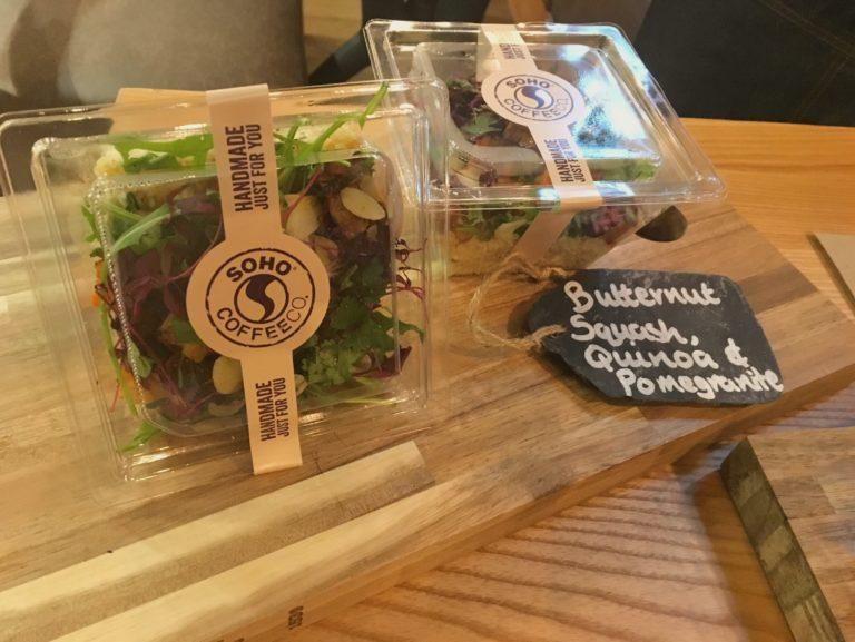 Butternut squash and quinoa salad