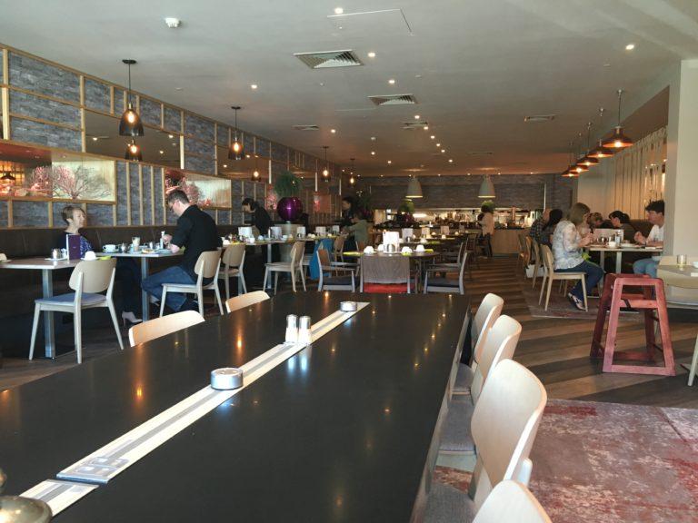 Mercure Cardiff Hotel restaurant
