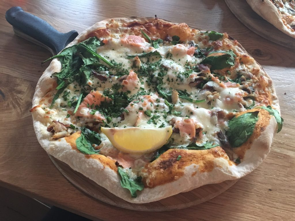 An evening of cider-tasting and pizza-making at The Stable, Cardiff