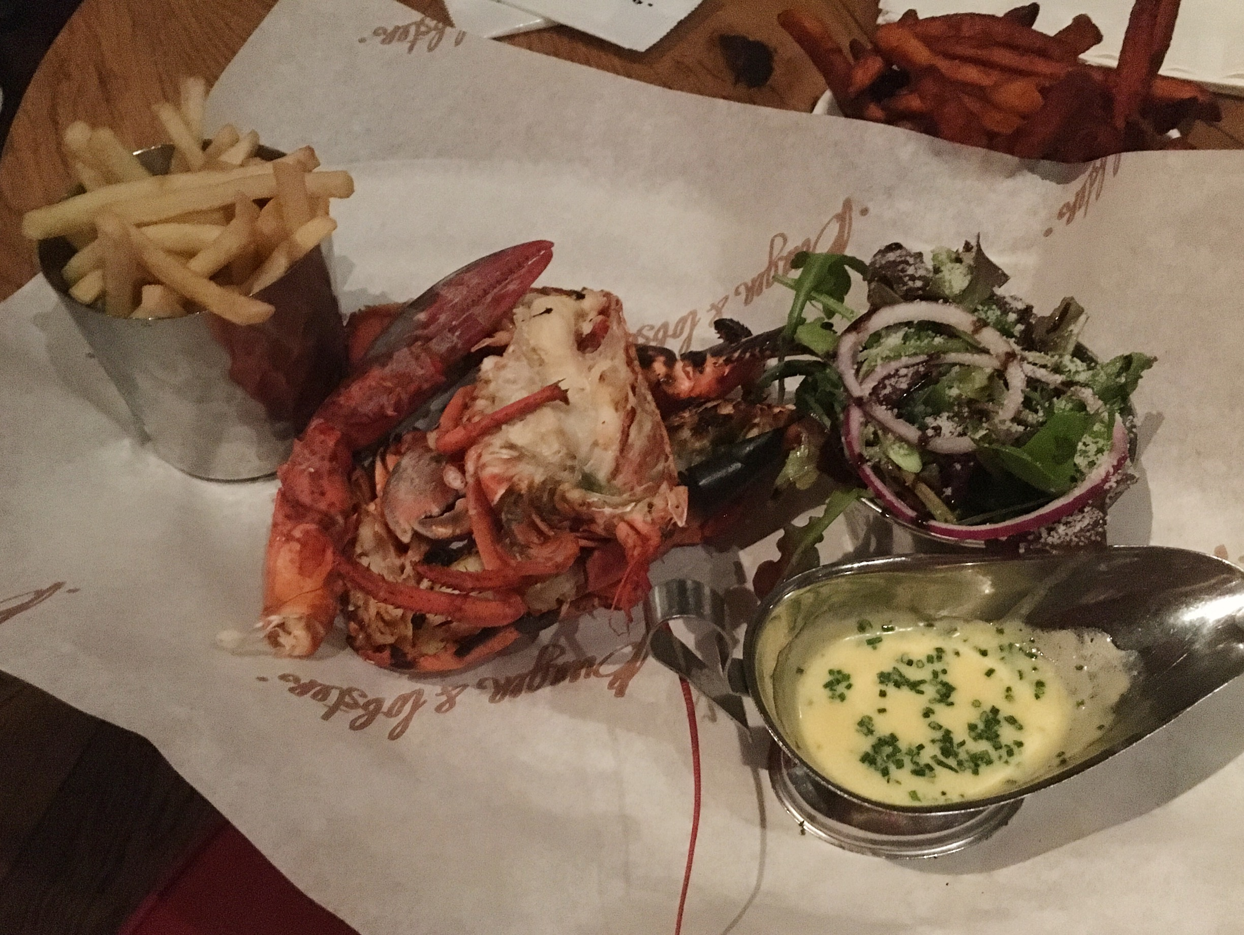 Lobster at Burger and Lobster