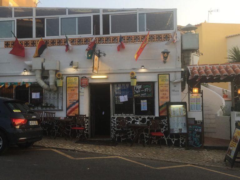 O Amigo Snack Bar in Lagos, Algarve, Portugal