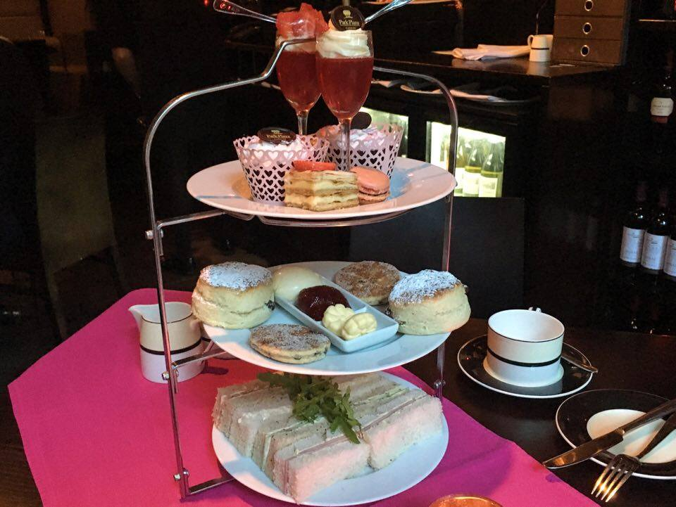 Breast Cancer Awareness Month: Pink Champagne Afternoon Tea at Park Plaza Hotel Cardiff