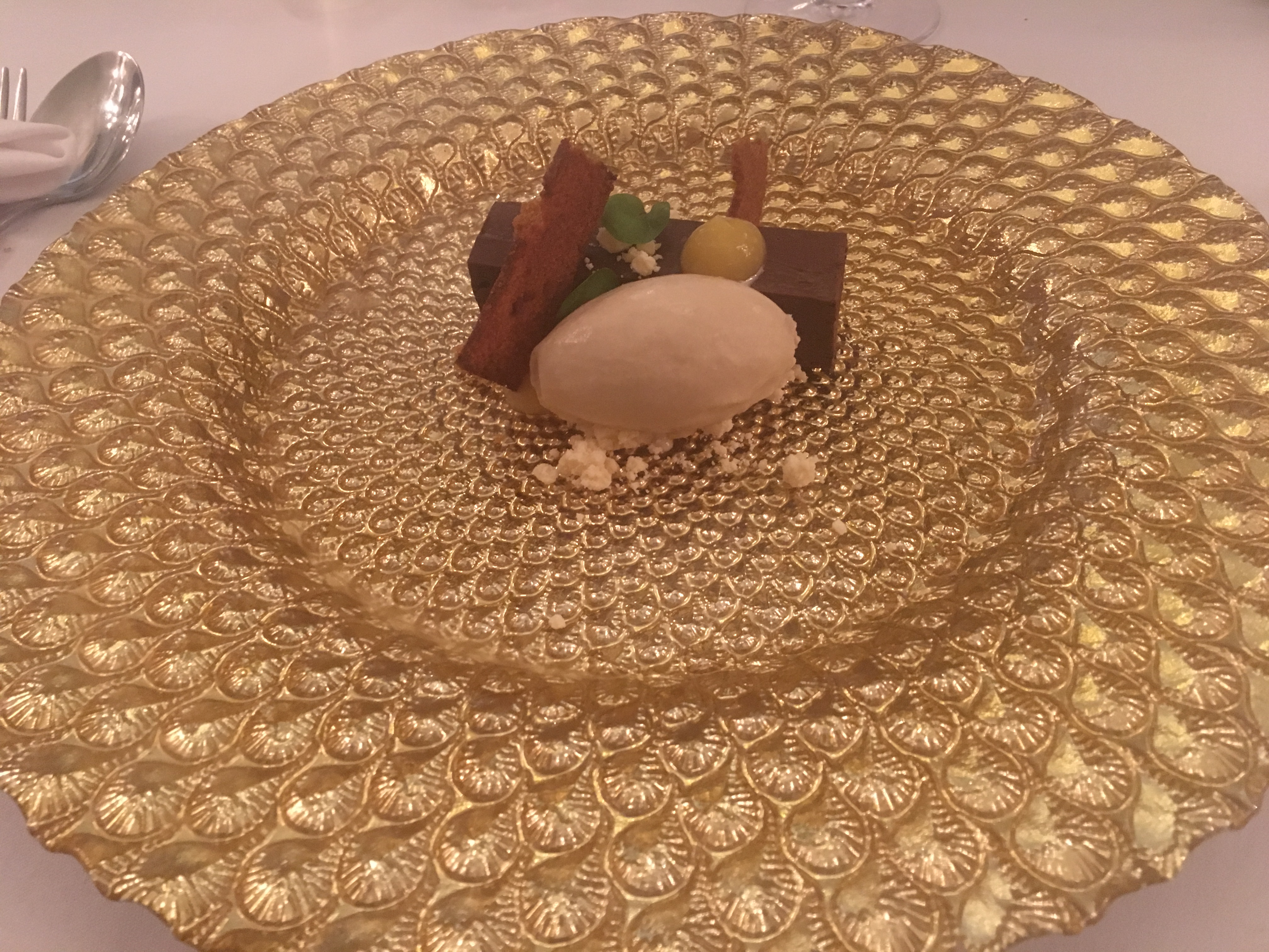 Dessert at Mojo FoodBar, Newport