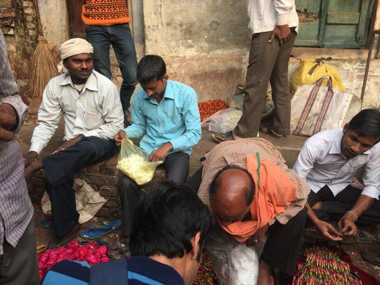 Varanasi Flower Market