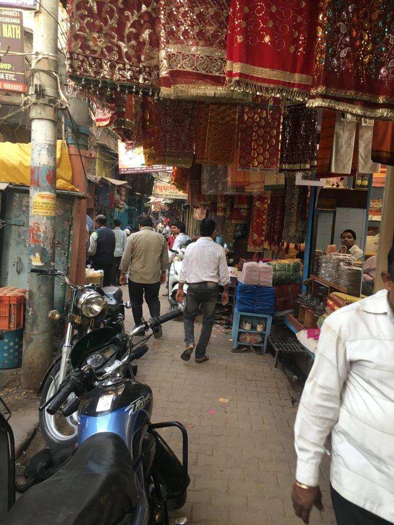 Silk on streets of Varanasi