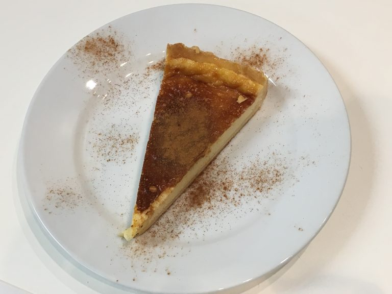 Pastel de nata, egg custard tart