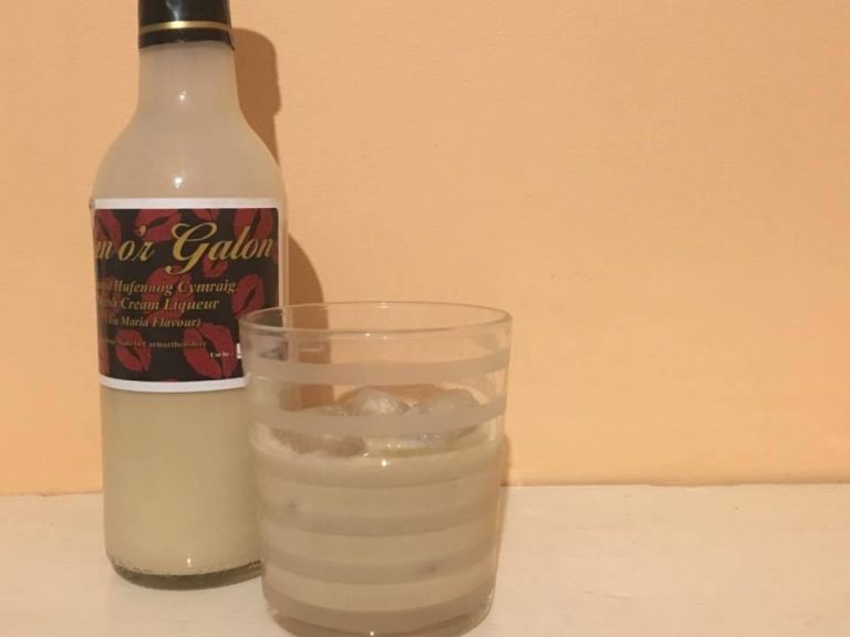 Welsh cream liqueur