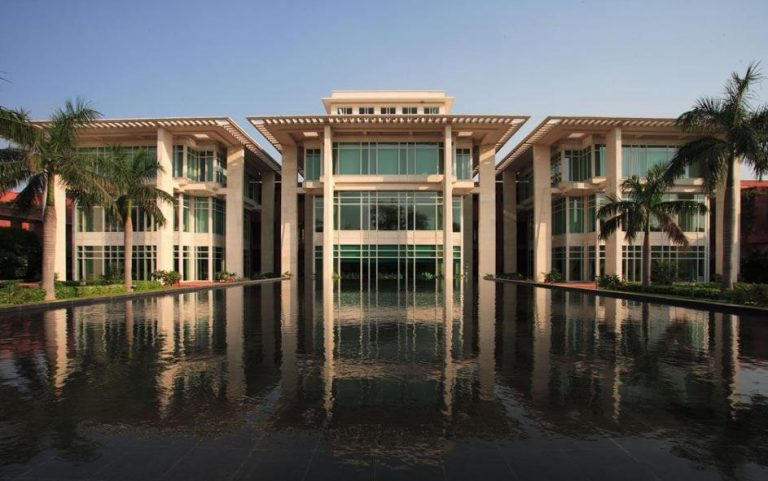 Reflection pool at Jaypee Palace Hotel, Agra