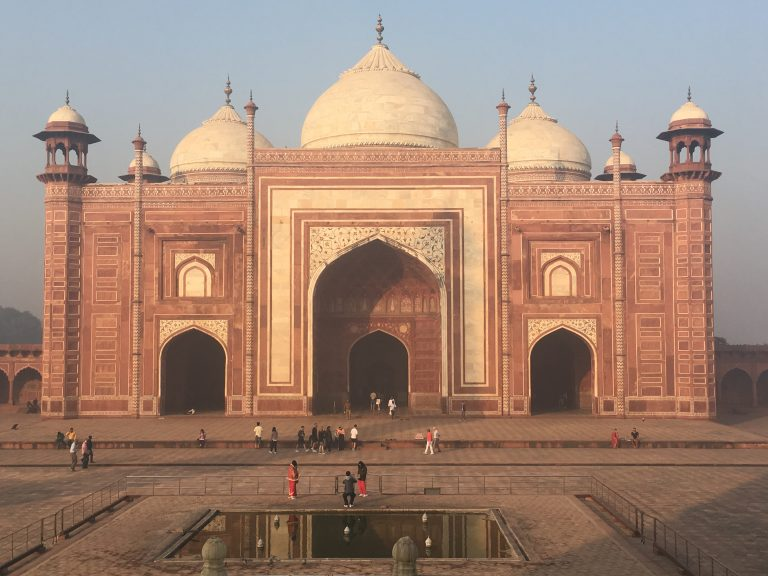 Red Stone Mosque or 'Masjid', Taj Mahal
