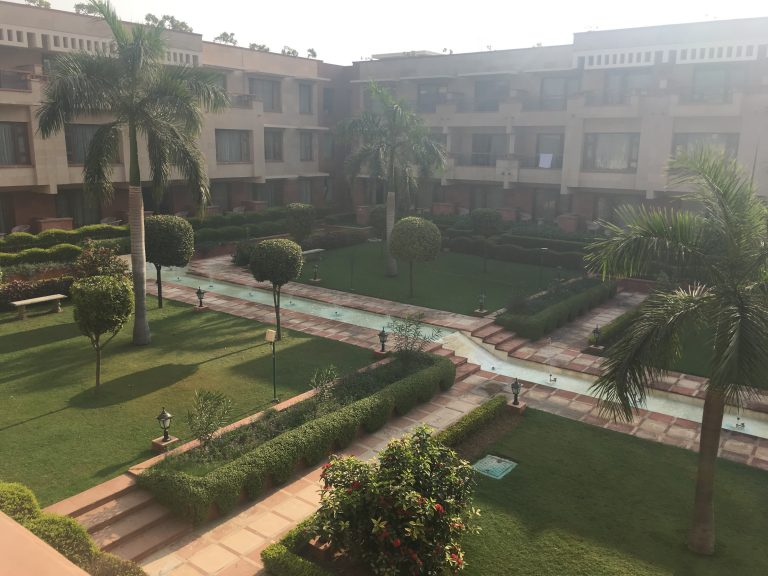 Balcony view at Jaypee Palace Hotel, Agra