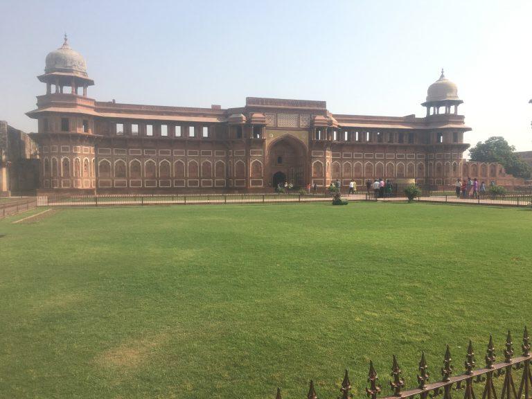 Jahangir Mahal (Palage) at Agra Fort, India