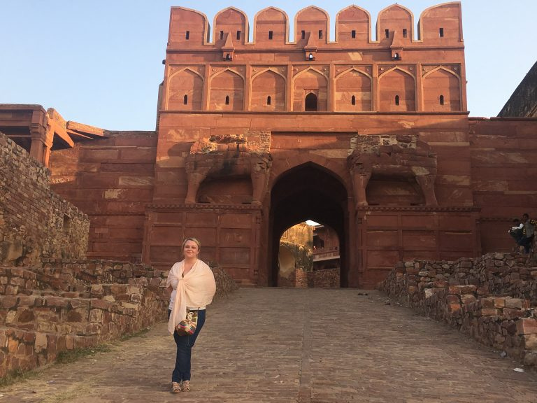 Elephant Gate, Fatehpur Sikri