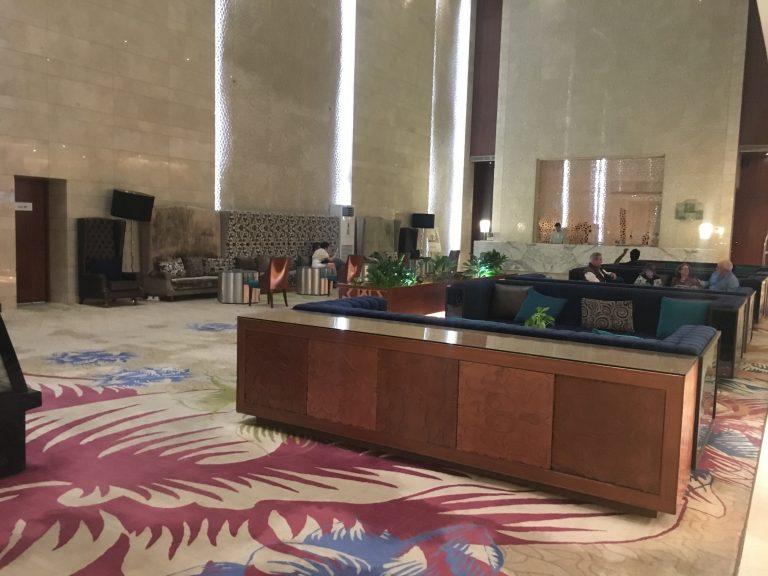 Lobby at Holiday Inn Jaipur