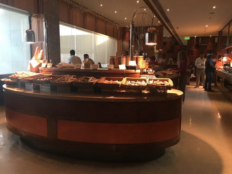 Breakfast bar in Monarch at Holiday Inn Jaipur