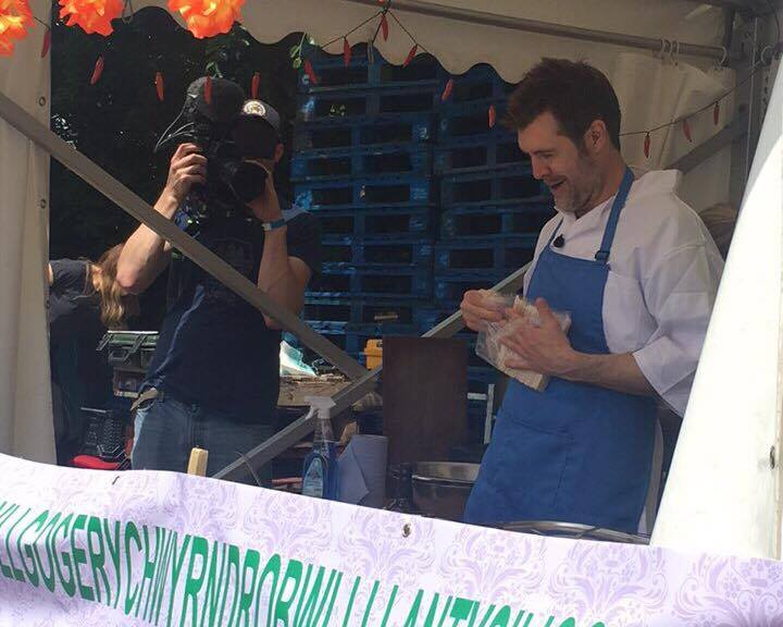 Rhod Gilbert at Cowbridge Food and Drink Festival