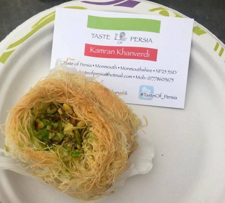 Taste of Persia baklava