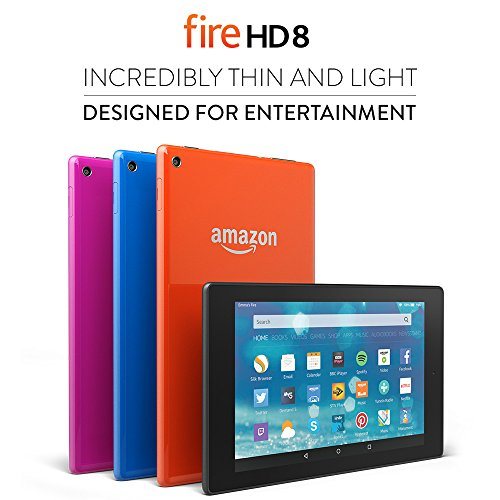 Win an Amazon Fire HD 8 and Fire Kids Editio