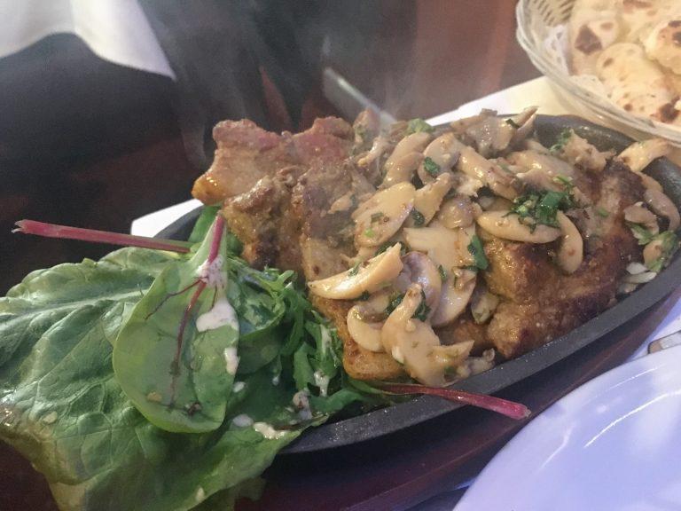 Nepalese pork chops