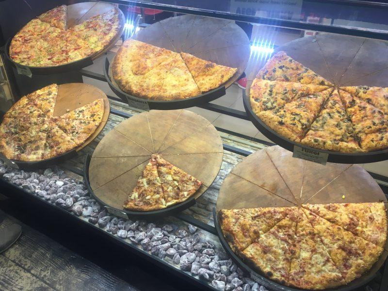Pizza in Sunny Beach, Bulgaria