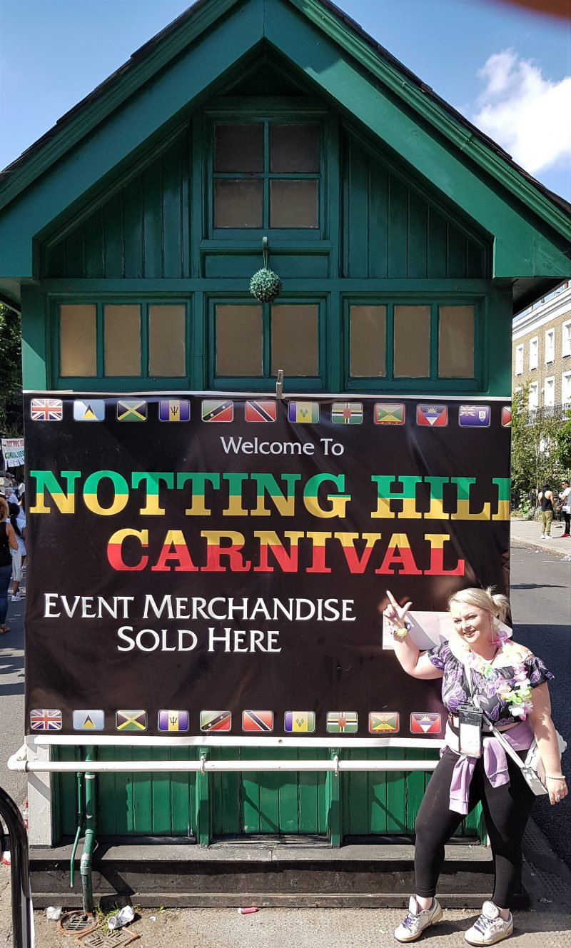 Me at Notting Hill Carnival