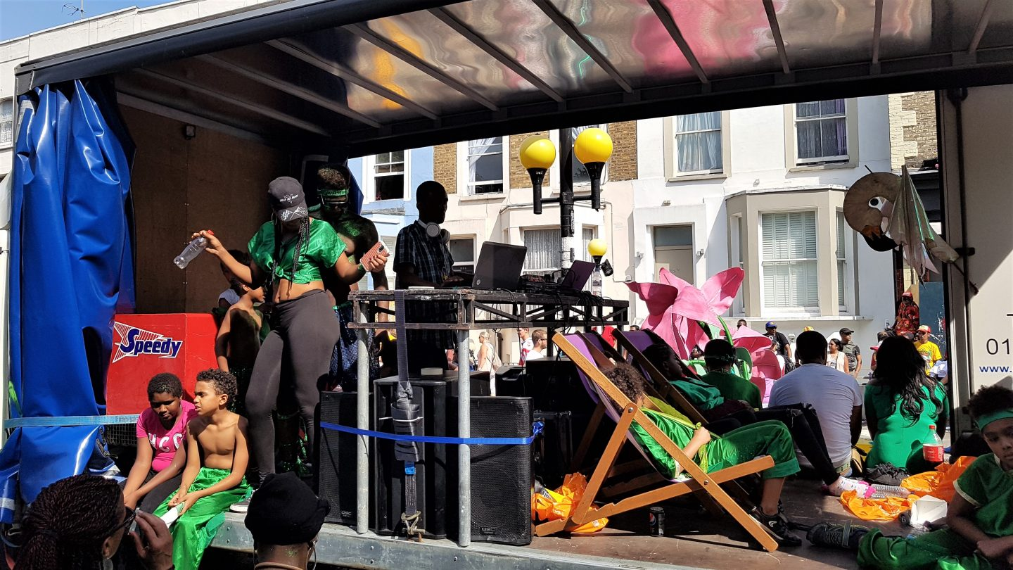 Grenfell Tower remembered at Notting Hill Carnival 2017 Children's Parade