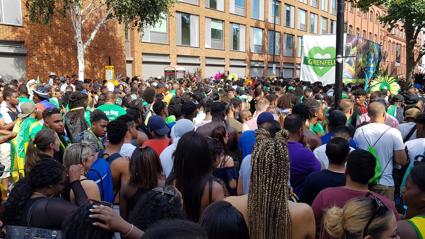 Grenfell Tower remembered at Notting Hill Carnival 2017
