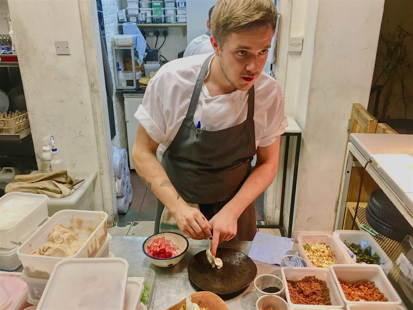Head chef at Native in Neal's Yard, Covent Garden