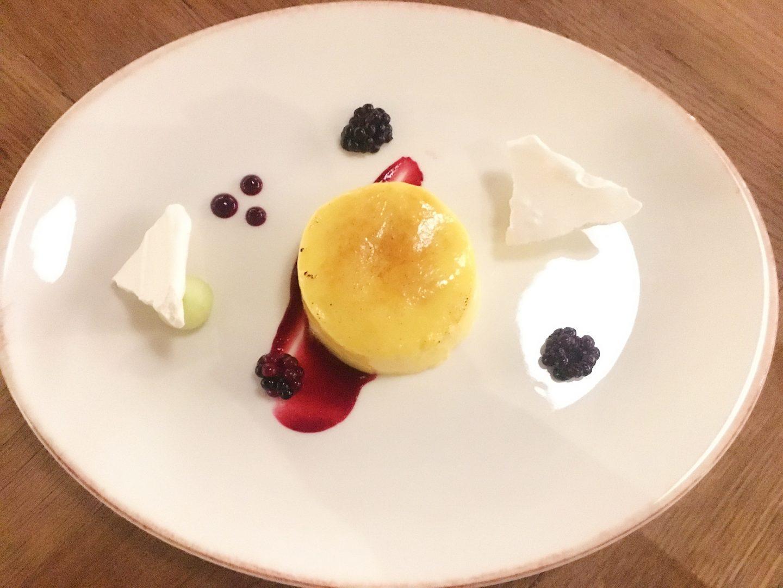 The Admiral St David's crème brûlée