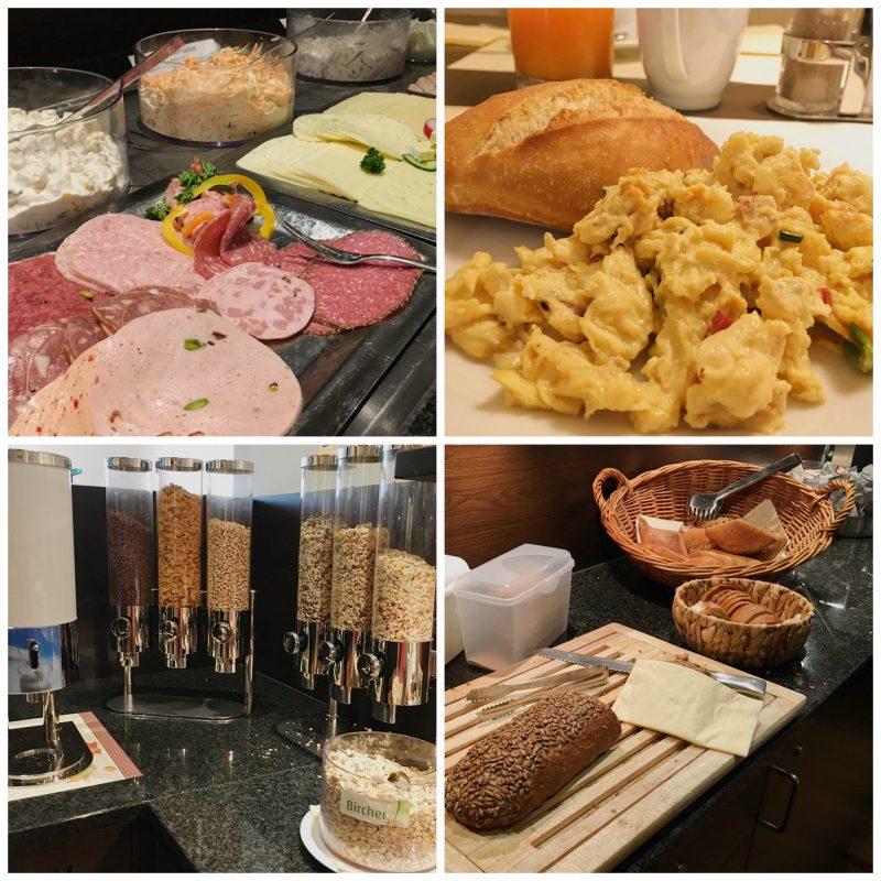 Heikotel Hamburg hotel - Hotel Am Stadtpark: Breakfast dishes