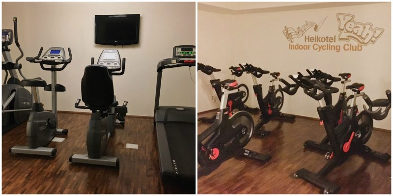 Hamburg hotels - Heikotel Hotel Am Stadtpark: Fitness room