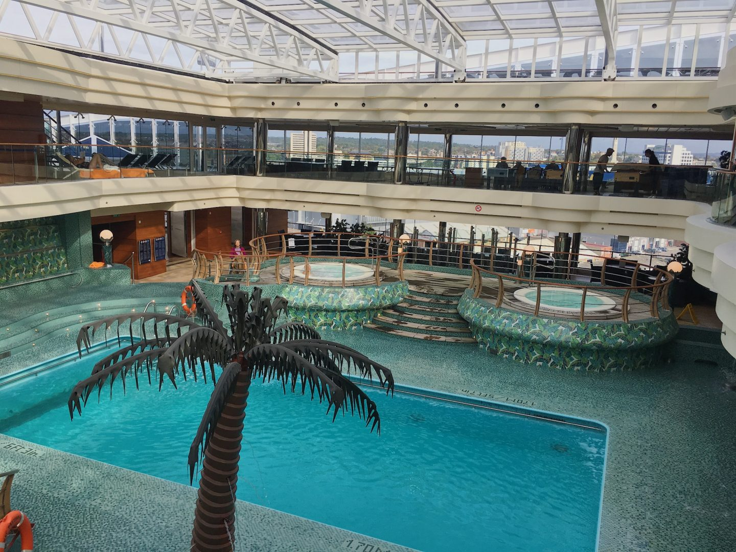 Indoor Swimming pool, MSC Preziosa cruise ship