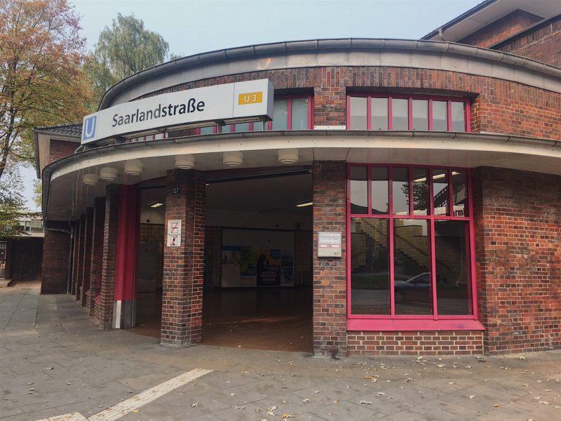 Saarlandstrasse U-Bahn