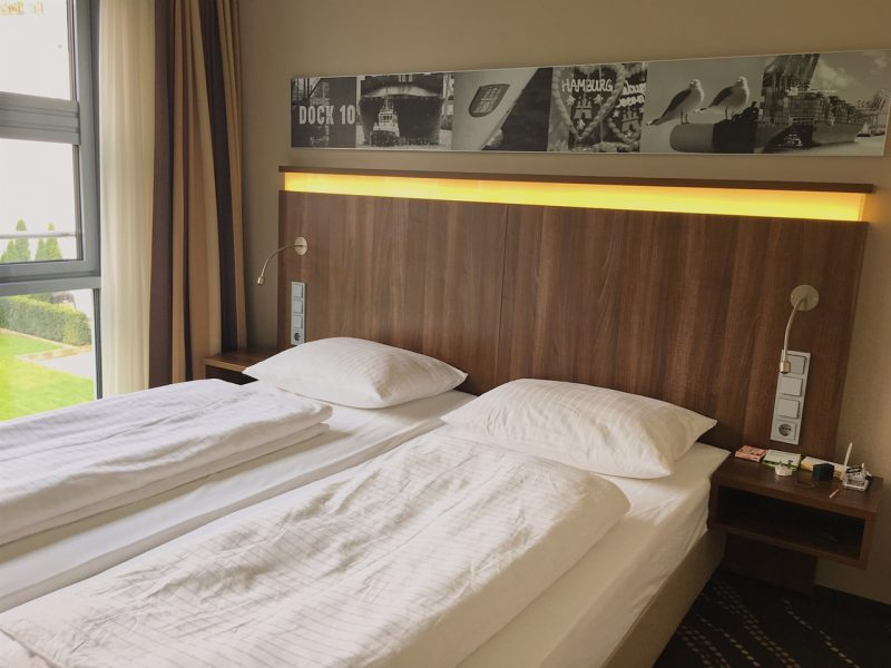 Heikotel Hamburg hotel - Hotel Am Stadtpark: Bed
