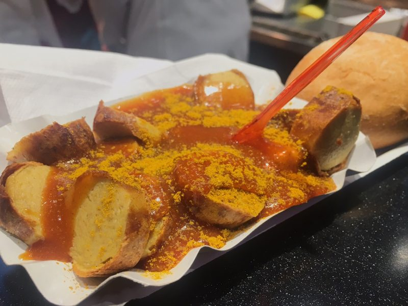 Currywurst from Mo-Grill (places to eat in Hamburg)