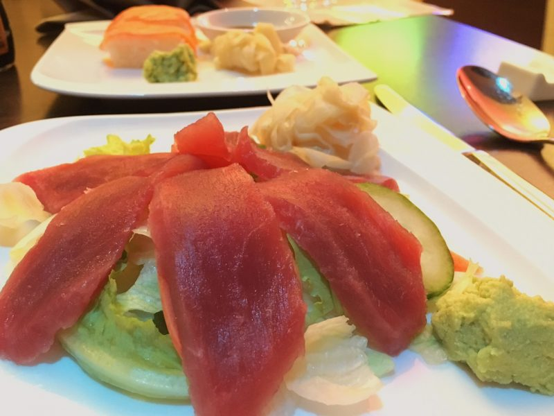 Sushi at Copper House, Hamburg (Best places to eat in Hamburg)