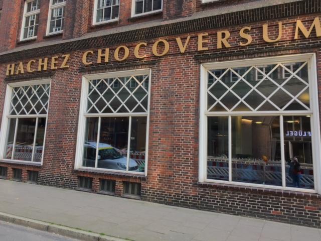 Hachez Chocoversum chocolate museum, Hamburg